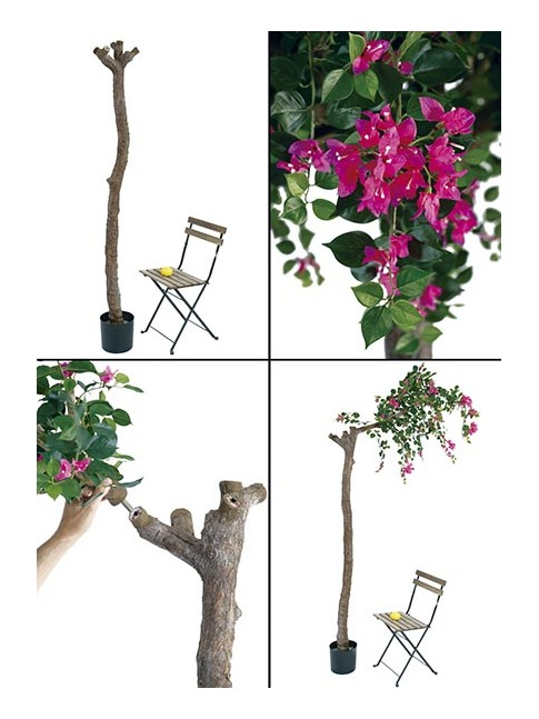 BOUGAINVILLEA artificial en maceta alta