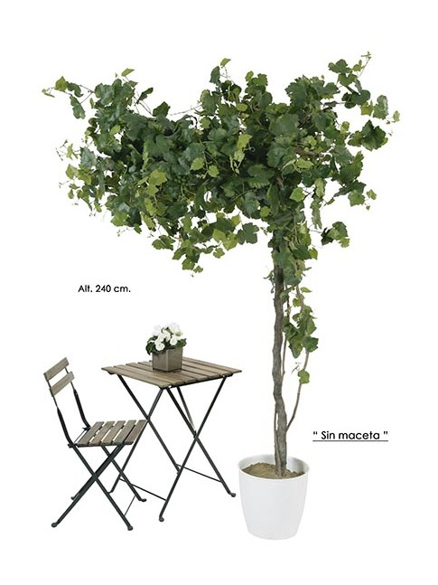 PLANTA PARRA de UVA artificial decorativa 240 cm